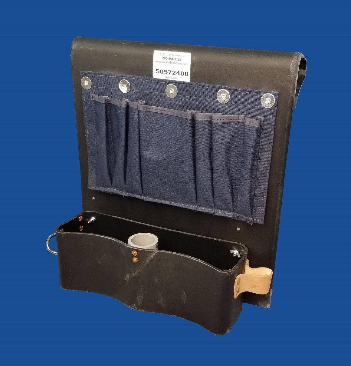 Thigh Brace Tool Tray - Tool Apron On Top - Bucket Truck Parts