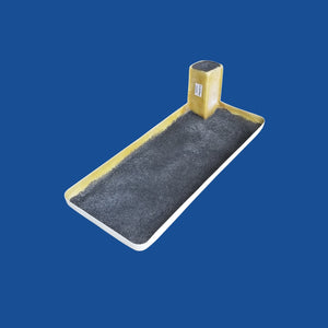 "Scuff Pad with Step - Two Man - 24"" x 48"" - Bucket Truck Parts"