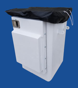 "Bucket Cover for Door Buckets - 24"" X 24"" - Heavy Duty Vinyl - Bucket Truck Parts"