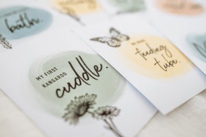 My Journey - NICU milestone cards for babies born early