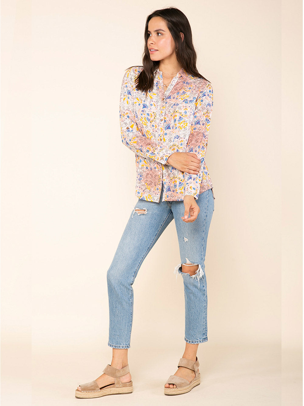 RAGA Calafia Button Down Shirt