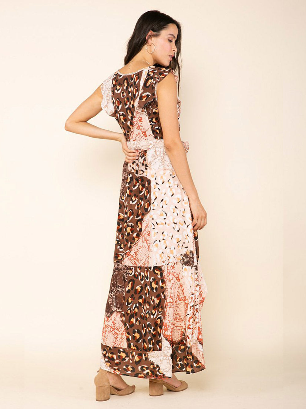 RAGA Congo Belted Hi Lo Dress
