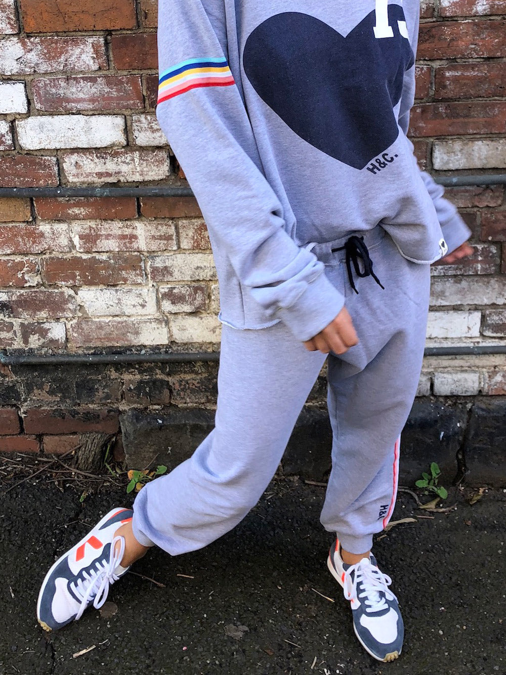 HAMMILL & CO Vintage 73 Trackpant - GREY