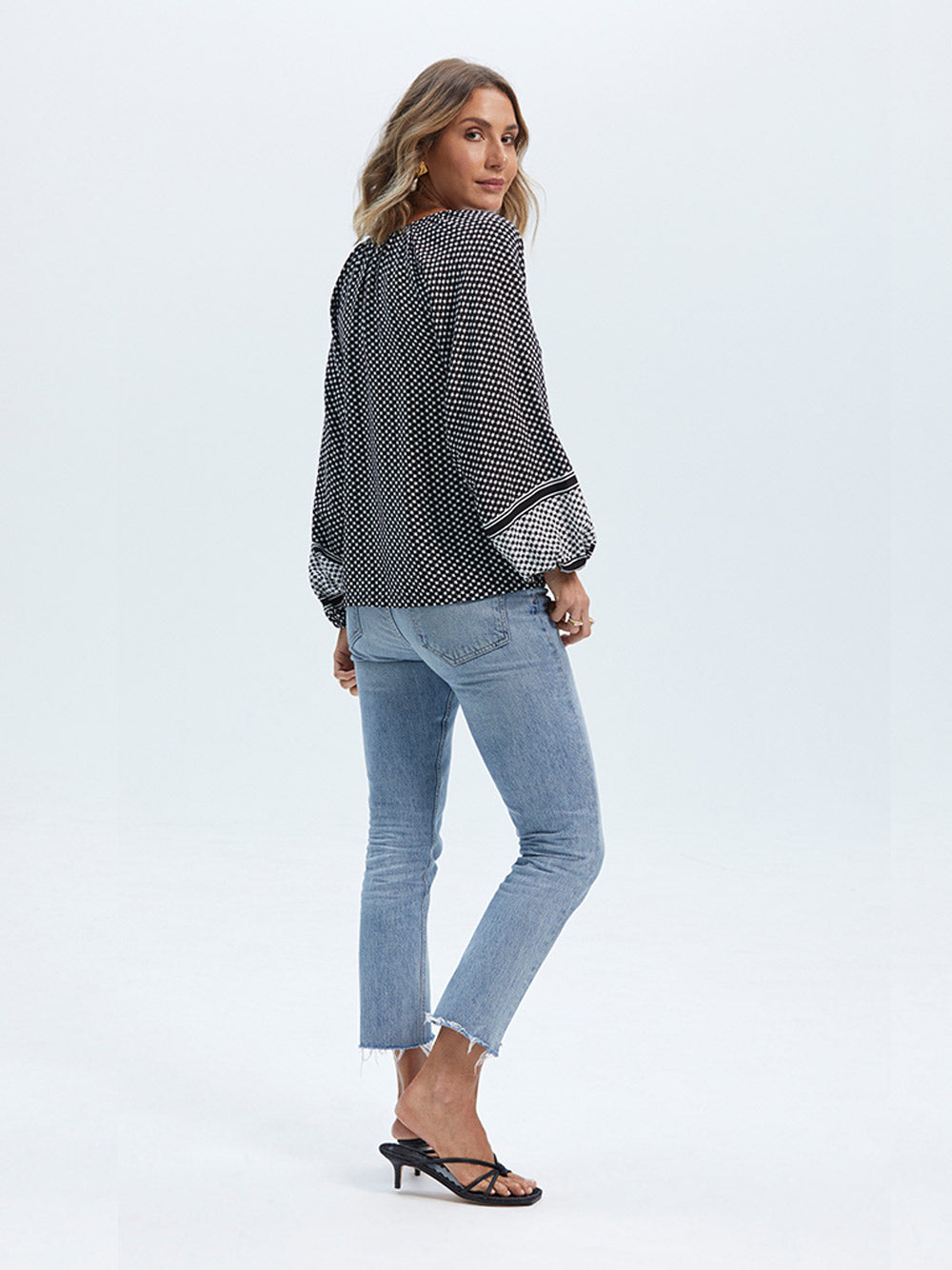 STAPLE THE LABEL Impression Blouse