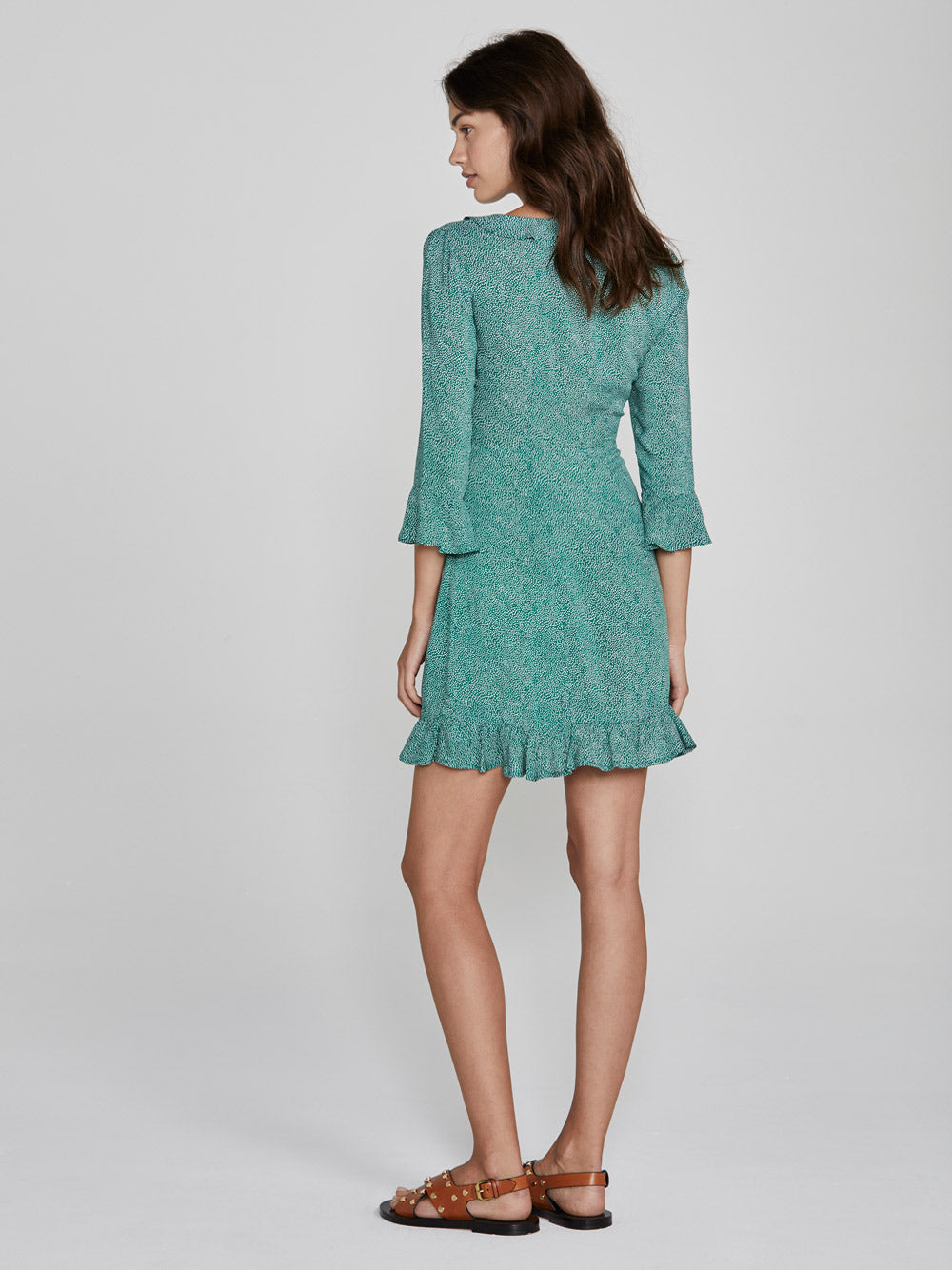 AUGUSTE Diamond Rumba Mini Dress