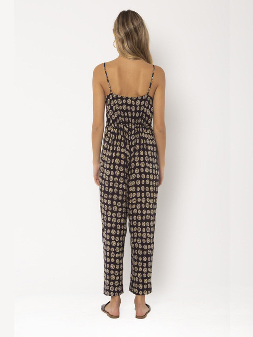 AMUSE SOCIETY Labyrinth Woven Jumpsuit