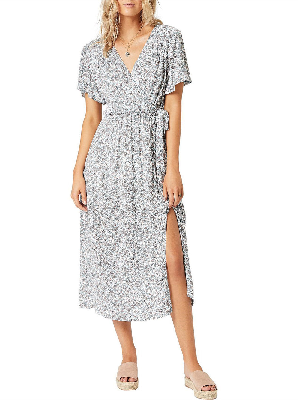 MINKPINK Love Crush Midi Dress