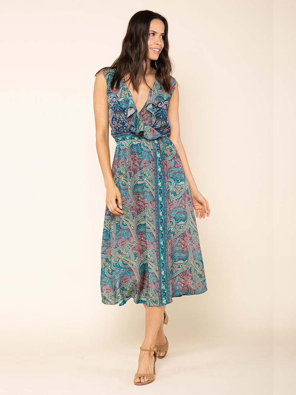 RAGA Mystic Garden Wrap Dress