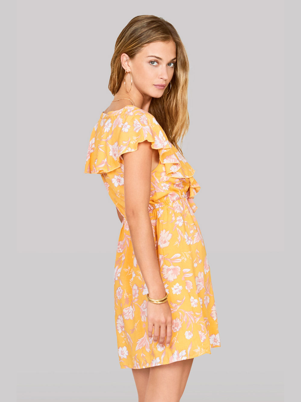 AMUSE SOCIETY Play Nice Dress - Honey