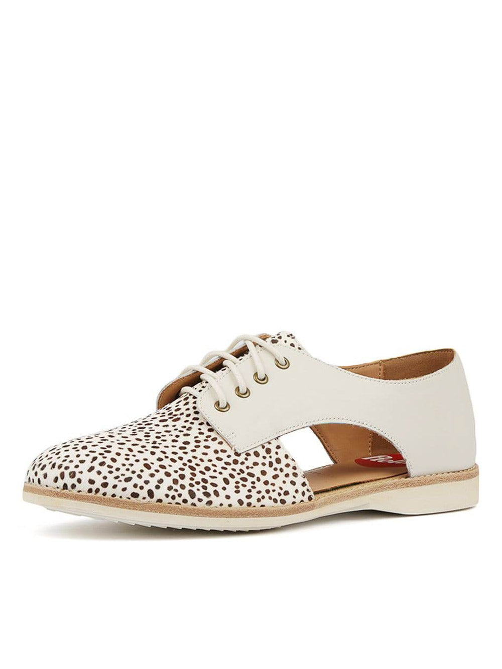 ROLLIE Derby Sidecut Snow Leopard - White