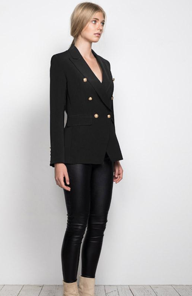 WISH  Expectations Blazer - Black