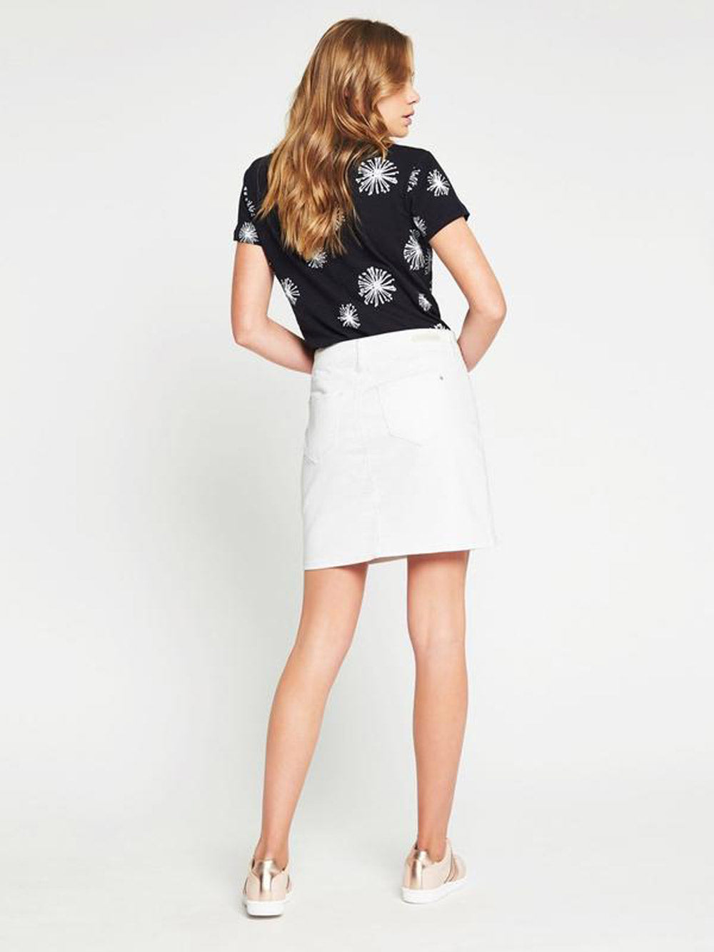 MAVI Alice Skirt - White