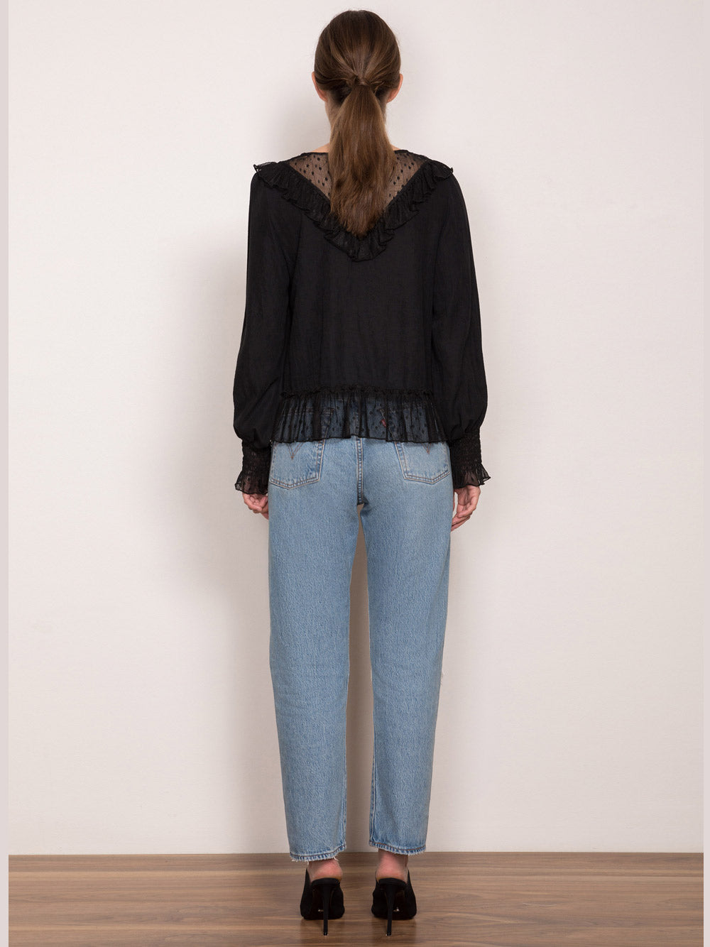 WISH Amore Blouse - Black