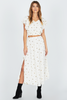 AMUSE SOCIETY City of Lights Skirt - White