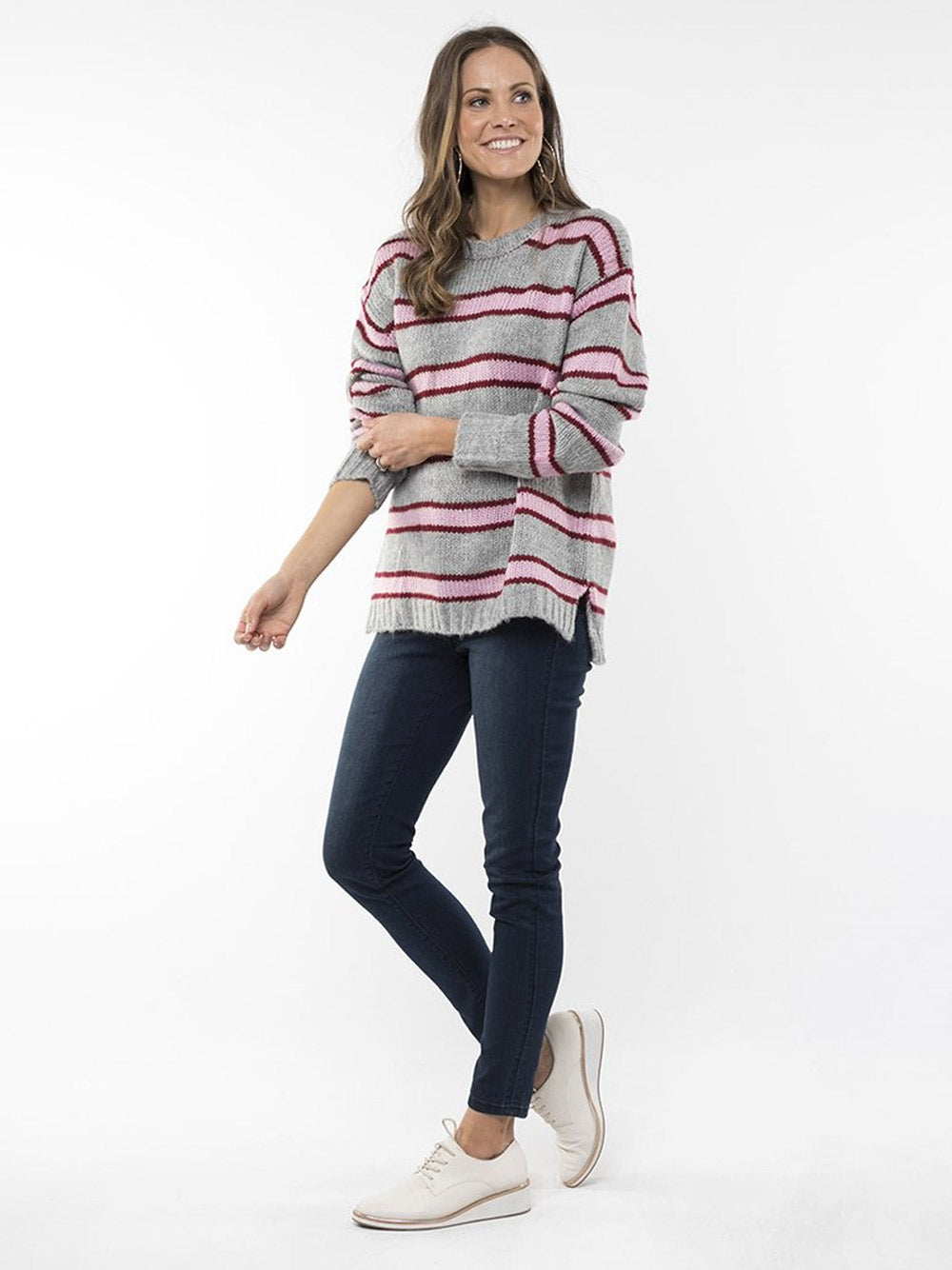 ELM LIFESTYLE Candy Stripe Knit