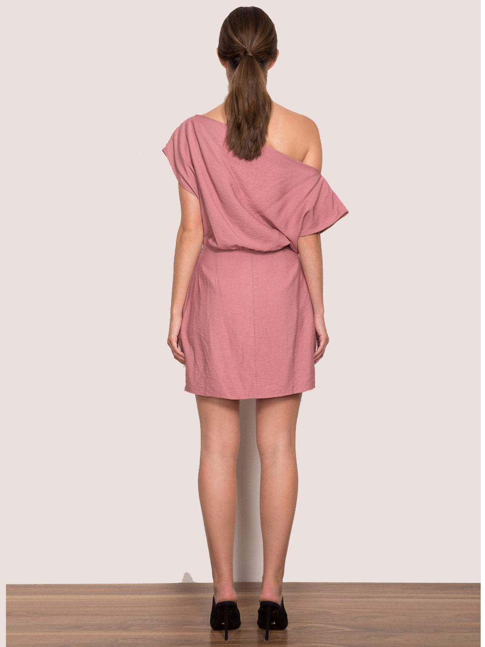 WISH Close Enough Dress - Dusty Rose