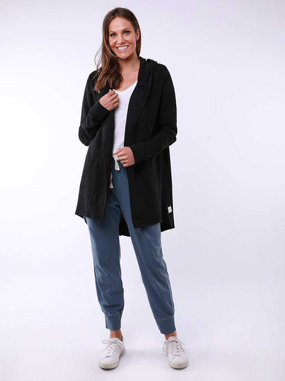 ELM LIFESTYLE Composure Hooded Cardigan