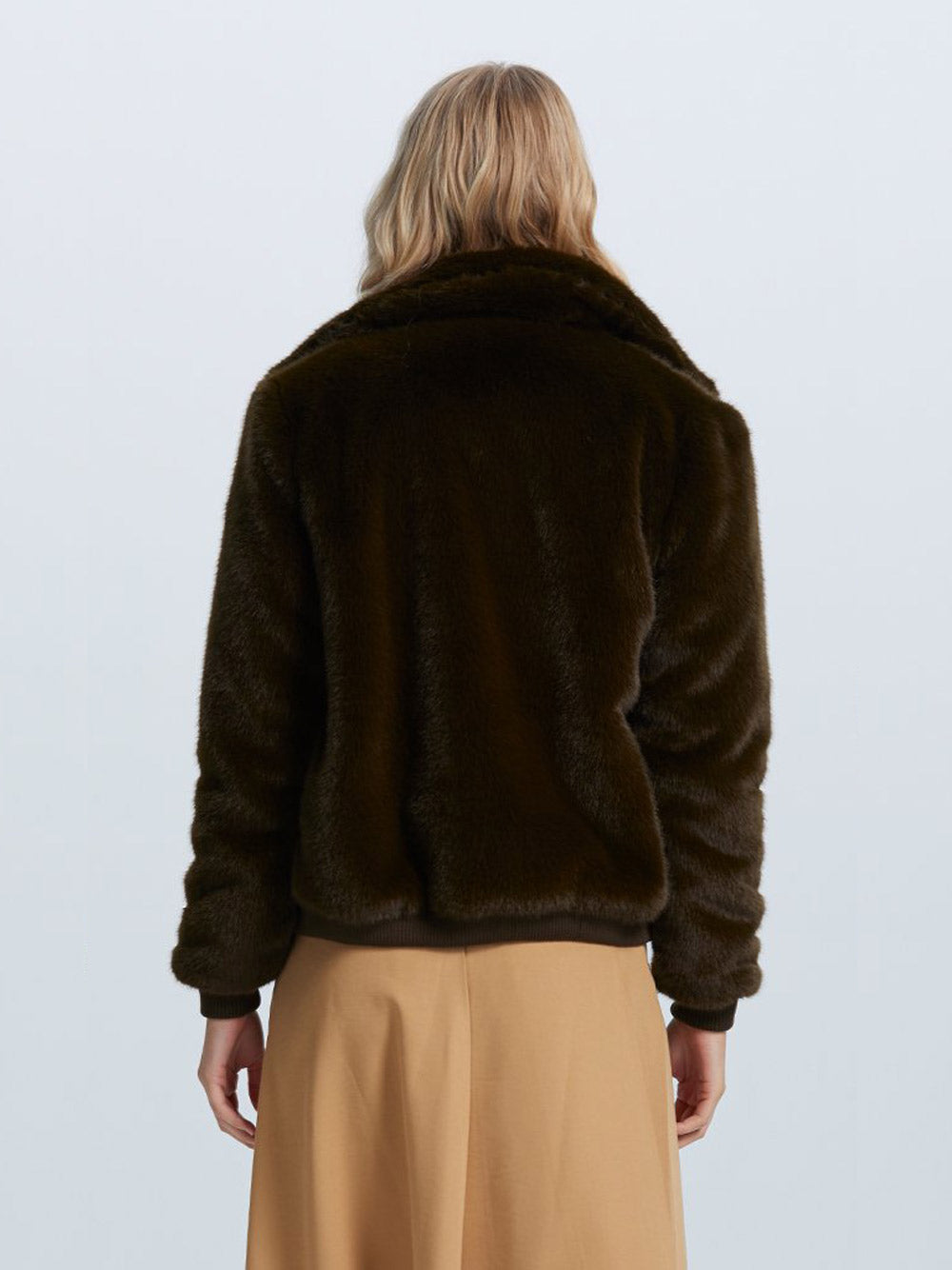 STAPLE THE LABEL Cora Fur Bomber
