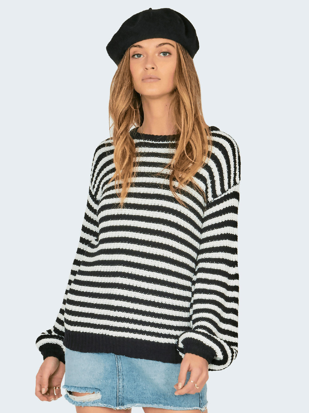 AMUSE SOCIETY Rodas Sweater - Stripe