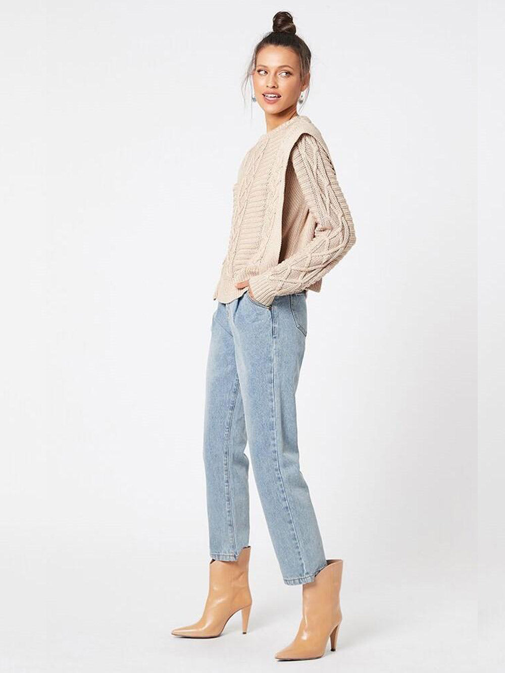 MINKPINK Dalisay Cable Knit