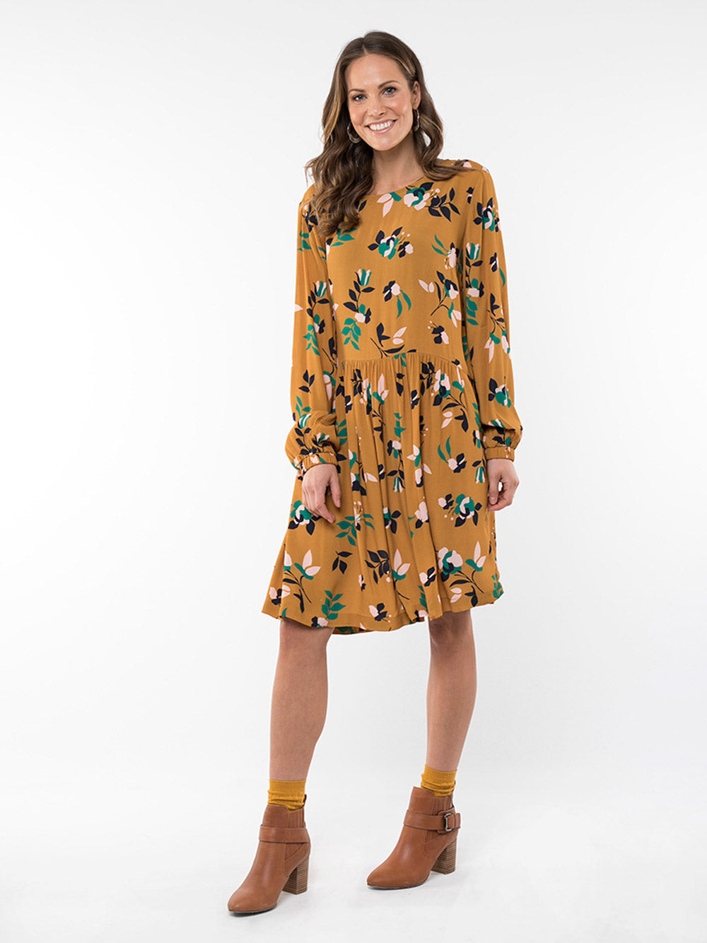 ELM LIFESTYLE Freesia Floral Dress