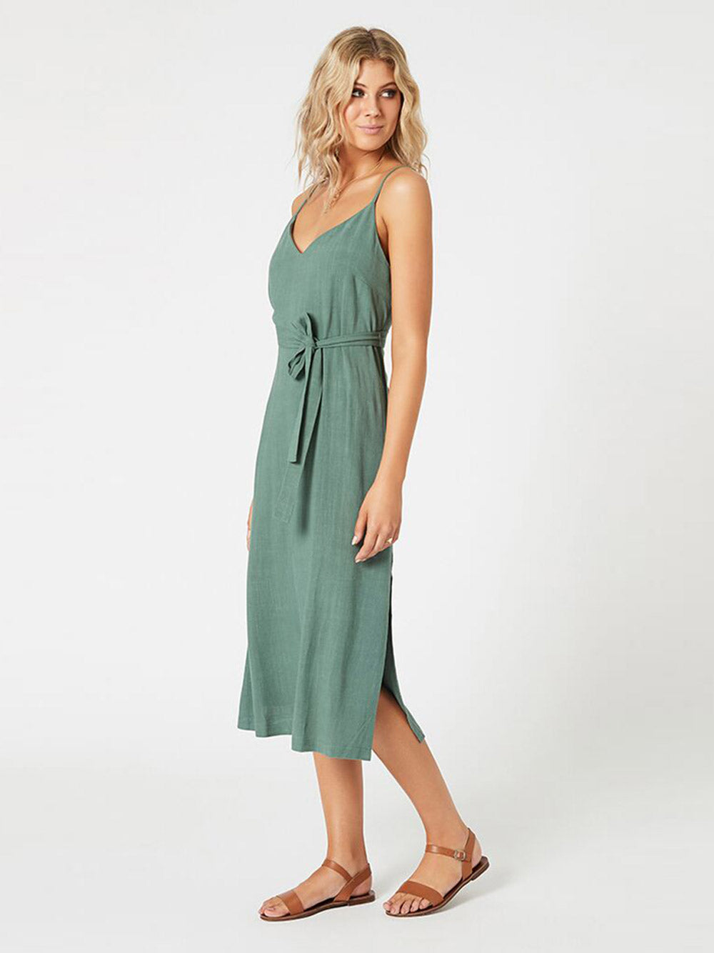 MINKPINK Gretta Midi Slip Dress