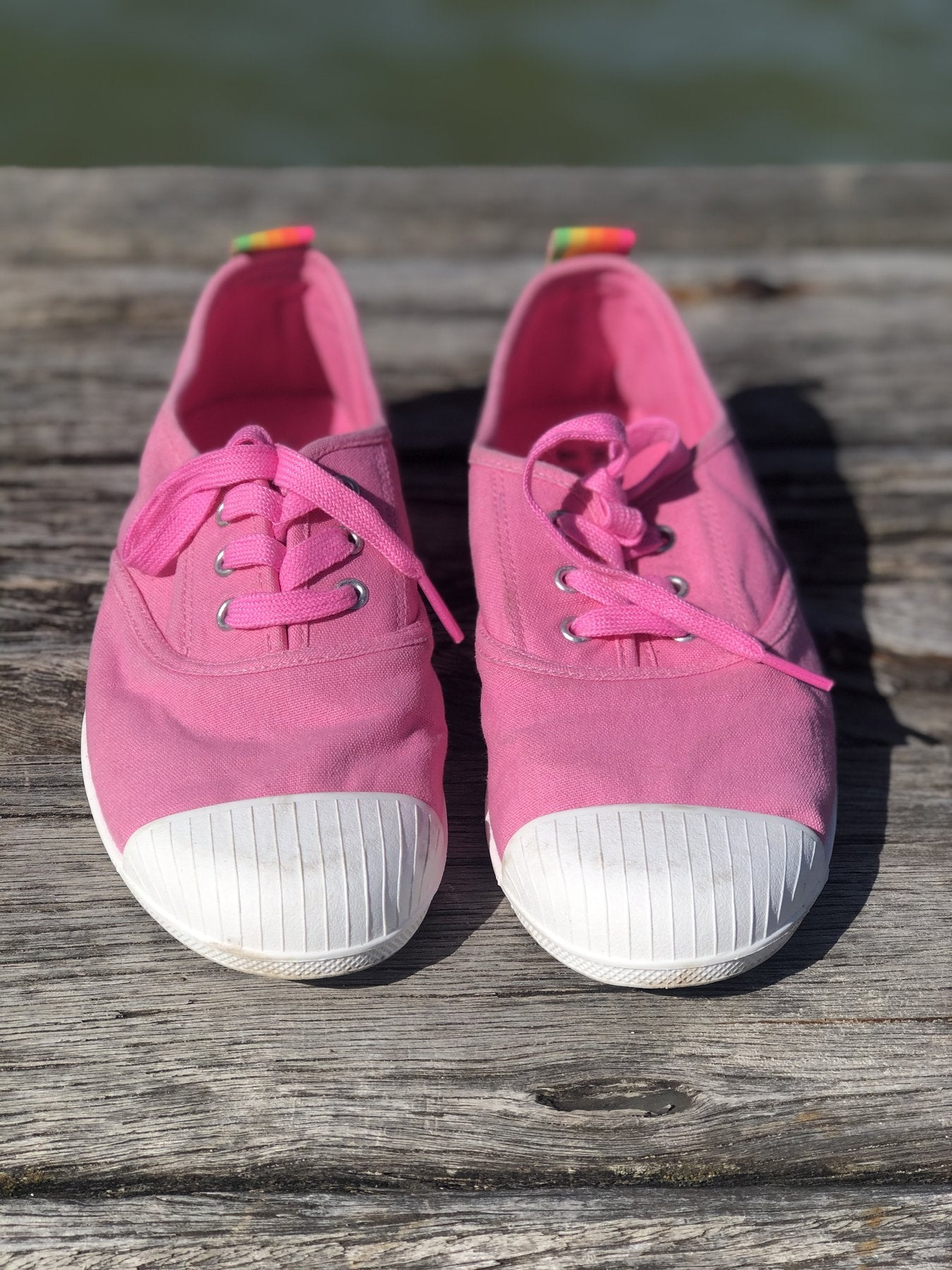 HAMMILL & CO Washed Canvas Sneaker - PINK