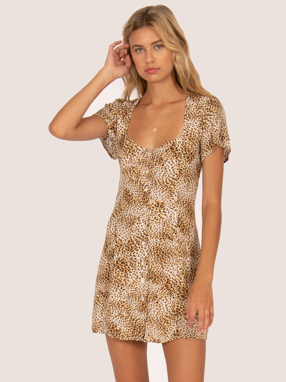 AMUSE SOCIETY Iman Dress - Natural
