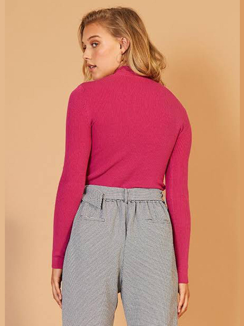 STAPLE THE LABEL Novella Ribbed Skivvy