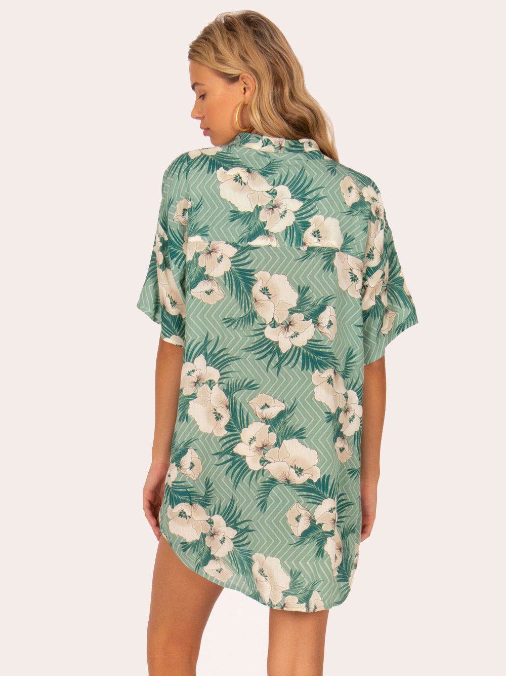 AMUSE SOCIETY Island Oasis Dress - Green