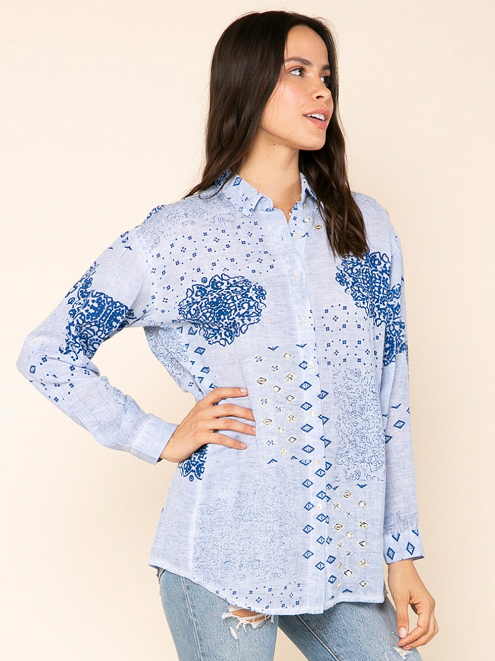 RAGA Makana Button Down Shirt