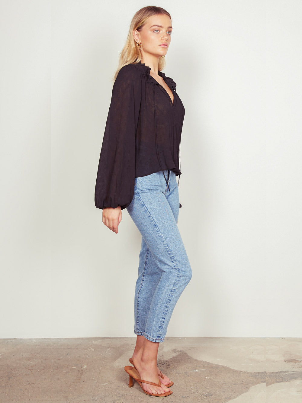 WISH THE LABEL Ruby Blouse - Black