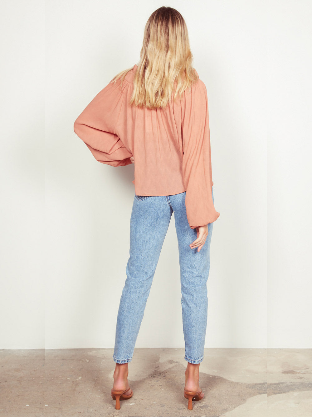 WISH THE LABEL Ruby Blouse - Rust