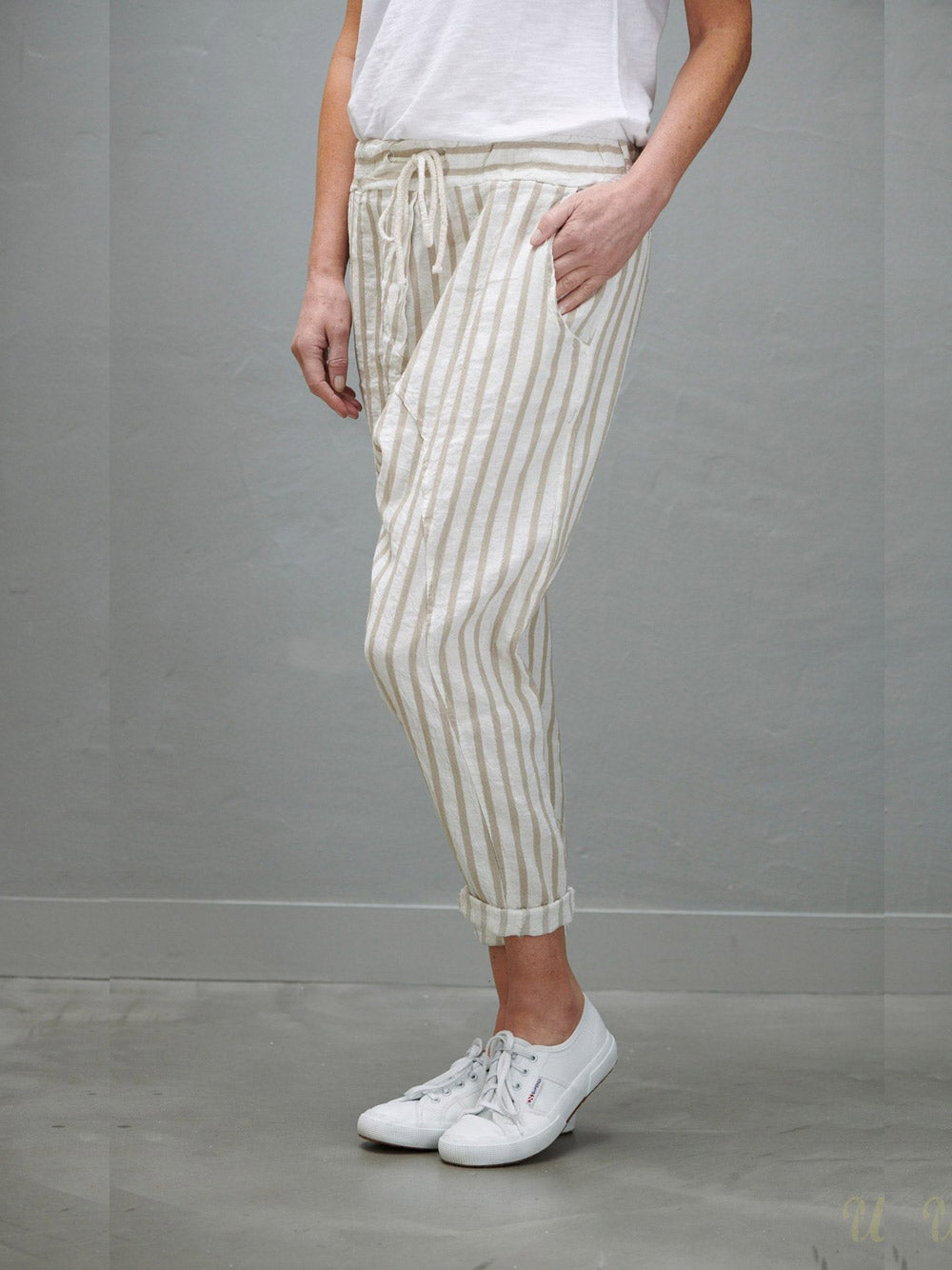LOVE FROM ITALY Sayer Pant - NATURAL