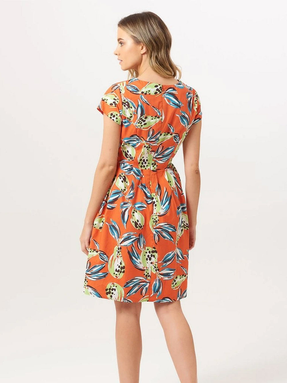 SUGARHILL BRIGHTON Sophie Tropical Punch Dress
