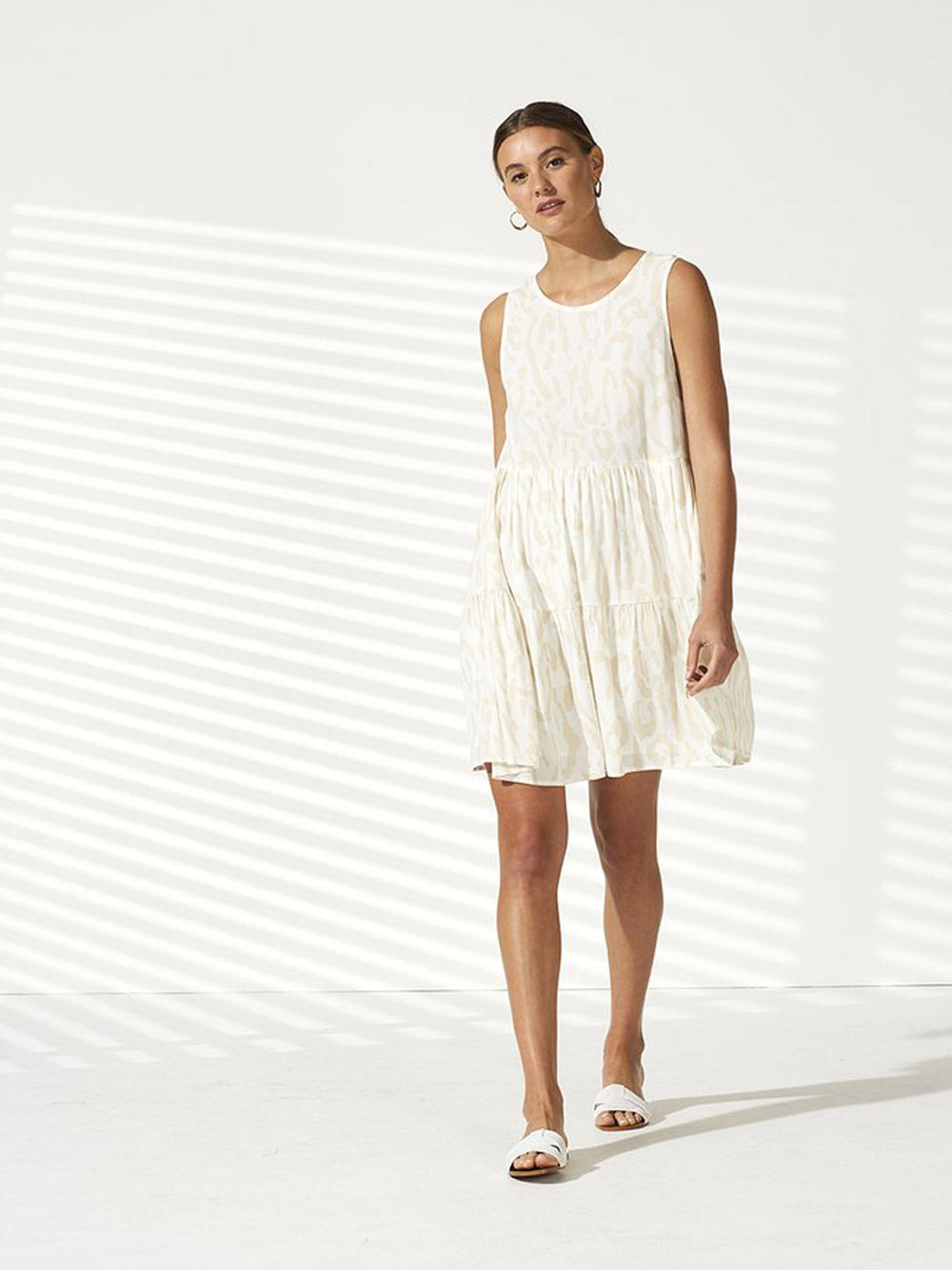 STAPLE THE LABEL Echo Tiered Dress