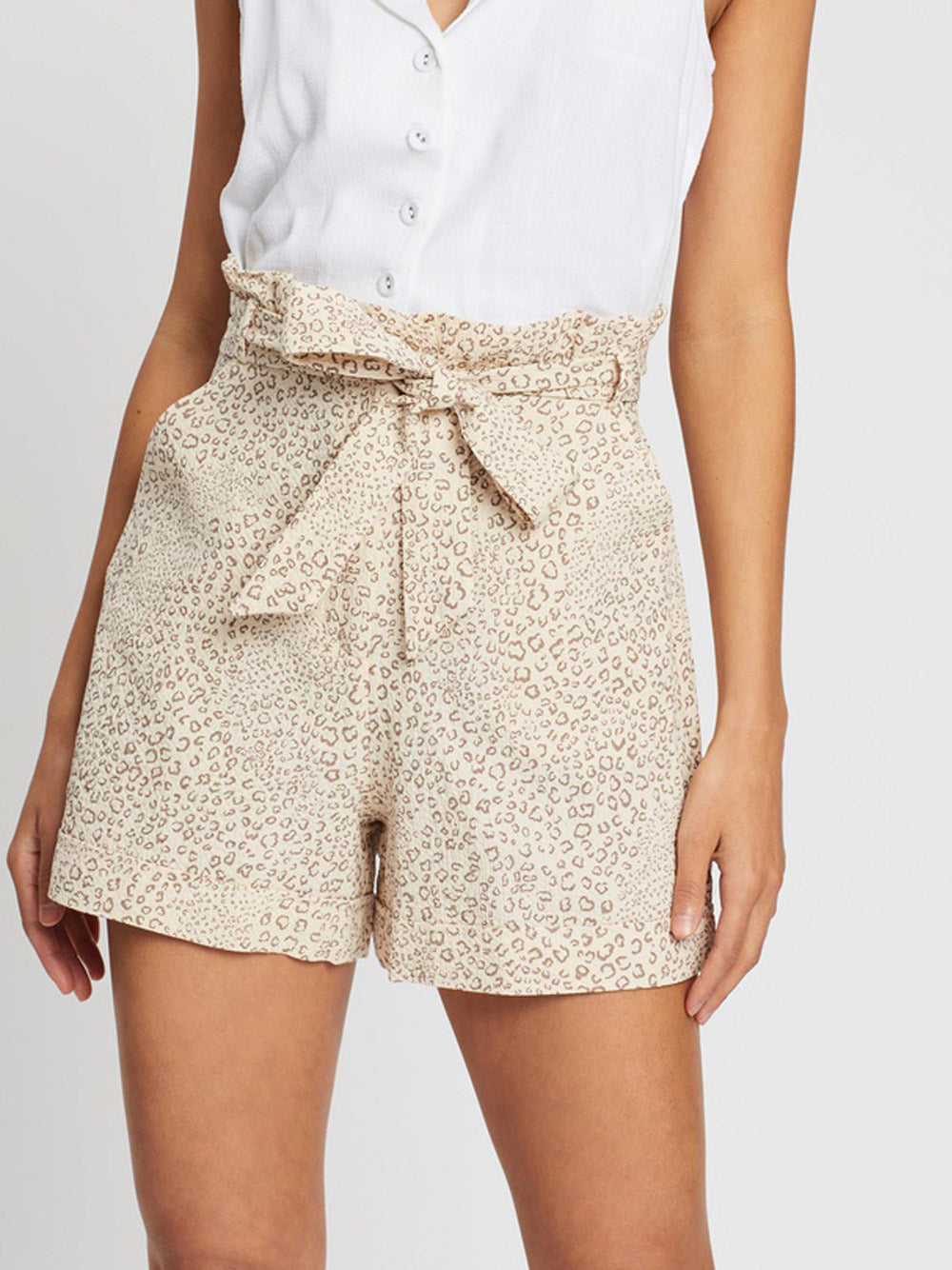 MINKPINK Timeless Tale Paper Bag Shorts