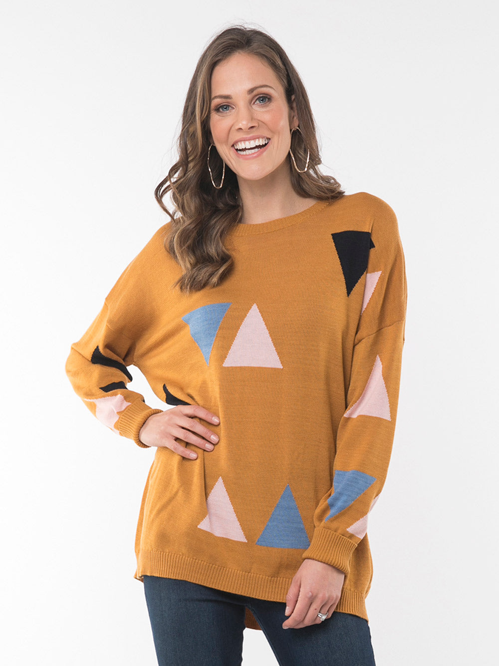 ELM LIFESTYLE Triangle Knit