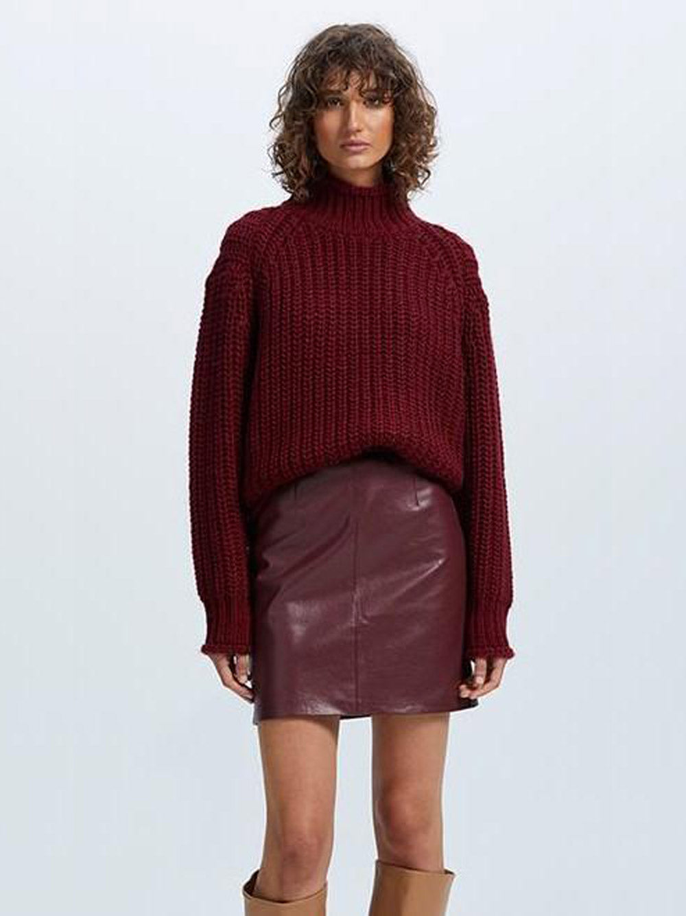 STAPLE THE LABEL Veronica Chunky Jumper