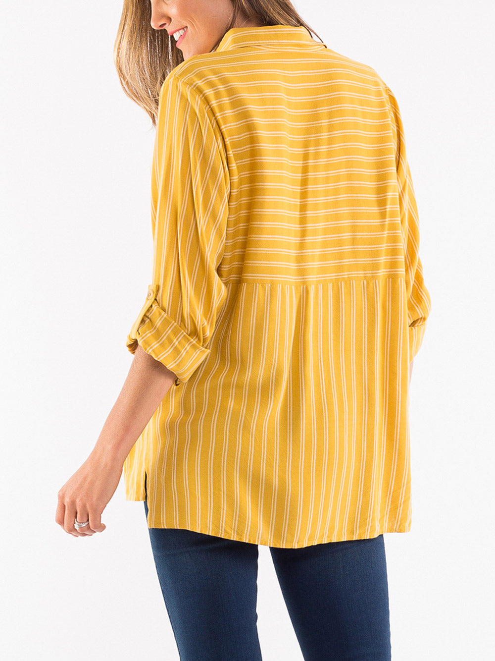 ELM LIFESTYLE Penny Stripe Shirt