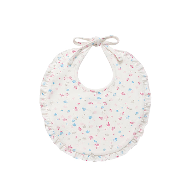 Berry Cotton Bib