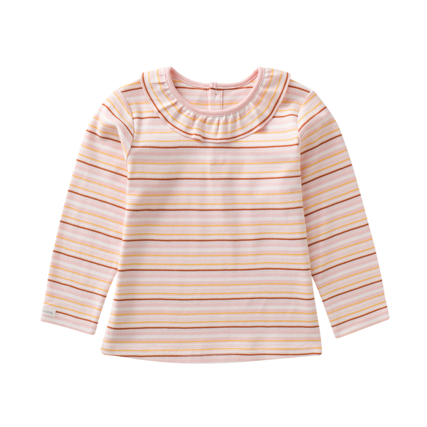 Boysenberry T-Shirt, Caramel Stripe