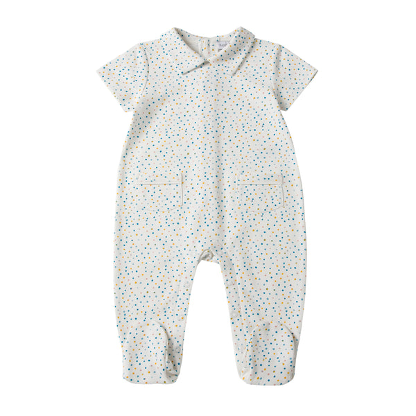 Dotty Cotton Sleepsuit