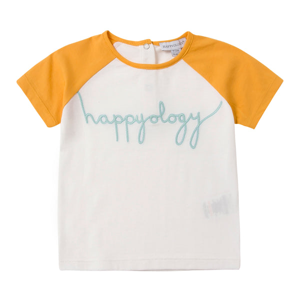 Happyology Raglan, Yellow