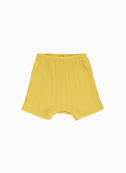 Avery Baby Shorts, Yellow