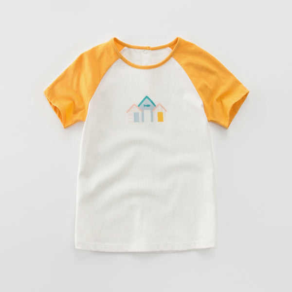 Beach House Raglan, Yellow
