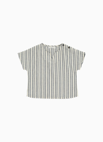 Bette Baby Top, Navy stripe