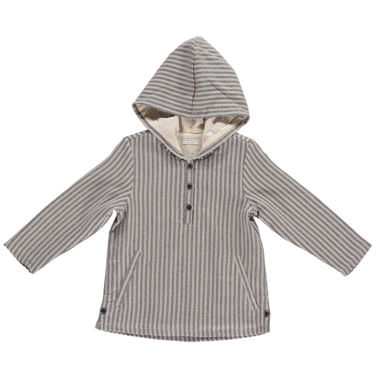 Cuckoo Hooded Jacket Ink Stripe