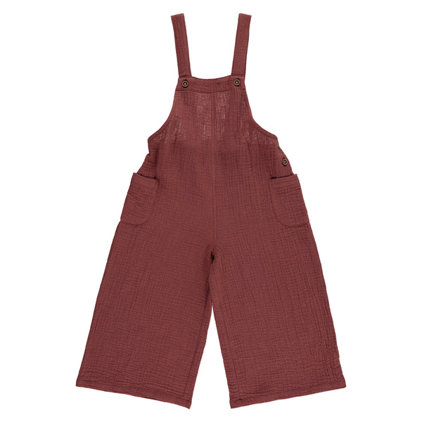 Hebe Dungaree, Burgundy