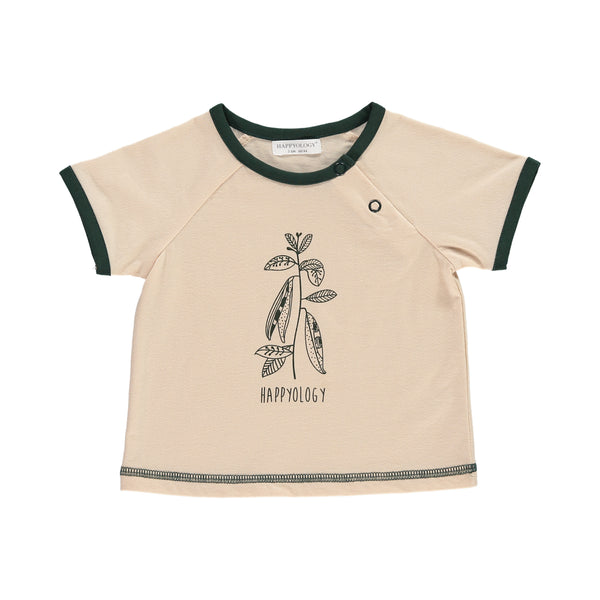 Huckleberry Baby T-Shirt, Almond